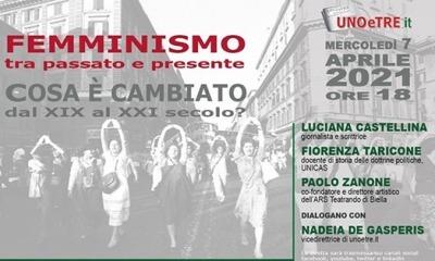 Paolo Zanone ospite di un dibattito sul femminismo